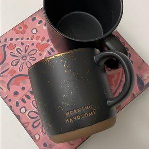Magnolia Morning Handsome Mugs! NWT!